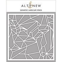 Altenew - Stencil - Geometric Landscape