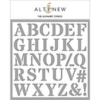 Altenew - Stencil - The Alphabet