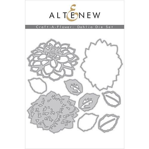 Altenew - Dies - Craft A Flower - Dahlia