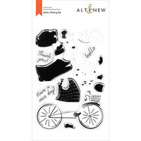 Altenew - Clear Photopolymer Stamps - Alten Riding By