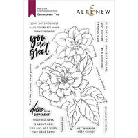Altenew - Clear Photopolymer Stamps - Courageous You
