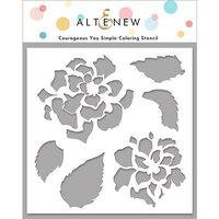 Altenew - Stencil - Courageous You