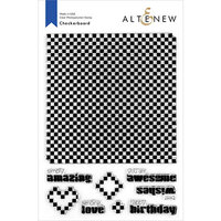 Altenew - Clear Photopolymer Stamps - Checkerboard