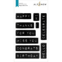 Altenew - Clear Photopolymer Stamps - Mega Label Love