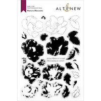Altenew - Clear Photopolymer Stamps - Nature Blossoms