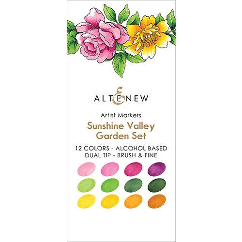 Altenew - Artist Markers - Set F - Sunshine Valley Garden