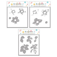 Altenew - Simple Coloring Stencil - 3 in 1 Set - Beauty Within