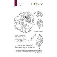 Altenew - Clear Photopolymer Stamps - Darling Rose