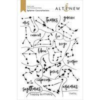 Altenew - Clear Photopolymer Stamps - Splatter Constellations