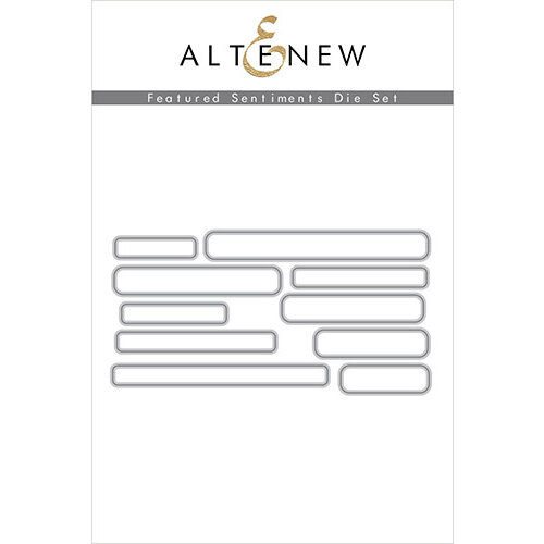 Altenew - Dies - Featured Sentiments