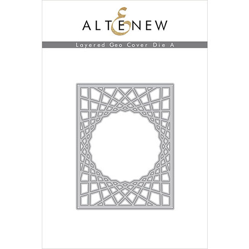 Altenew - Layering Dies - Geo Cover A