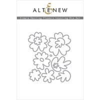Altenew - Layering Dies - Simple Nesting Flowers