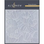 Altenew - Embossing Folder - 3D - Flowers and Leaves