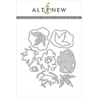 Altenew - Dies - Craft A Flower - Anemone
