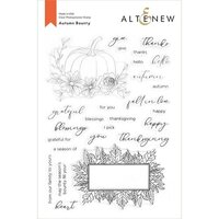 Altenew - Clear Photopolymer Stamps - Autumn Bounty