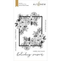 Altenew - Clear Photopolymer Stamps - Festive Floral Frame