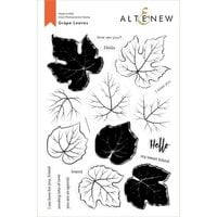Altenew - Clear Photopolymer Stamps - Grape Leaves