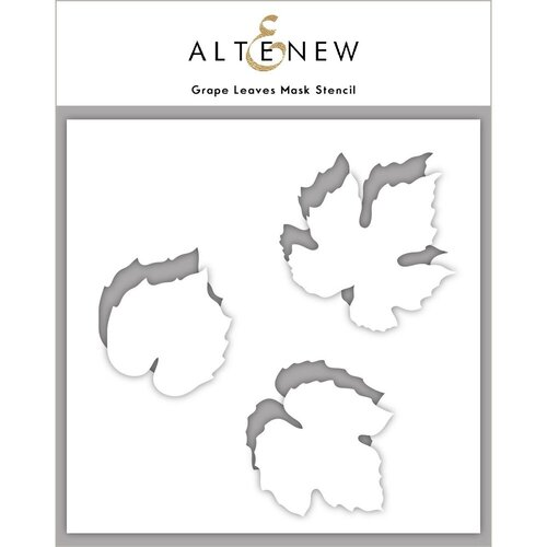 Altenew - Mask Stencil - Grape Leaves