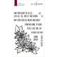 Altenew - Clear Photopolymer Stamps - Holiday Flower