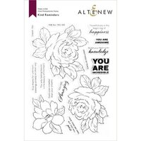 Altenew - Clear Photopolymer Stamps - Kind Reminders
