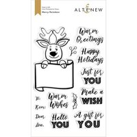 Altenew - Clear Photopolymer Stamps - Merry Reindeer