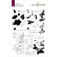 Altenew - Clear Photopolymer Stamps - Positive Vibes