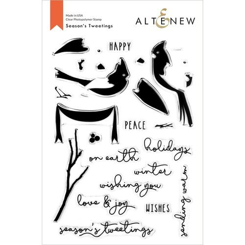 Altenew - Clear Photopolymer Stamps - Season