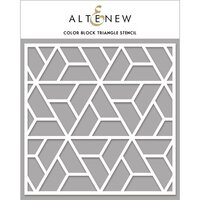 Altenew - Stencil - Color Block Triangle