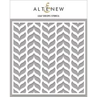 Altenew - Stencil - Leaf Drops