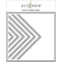 Altenew - Stencil - Mighty Corners