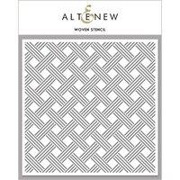 Altenew - Stencil - Woven
