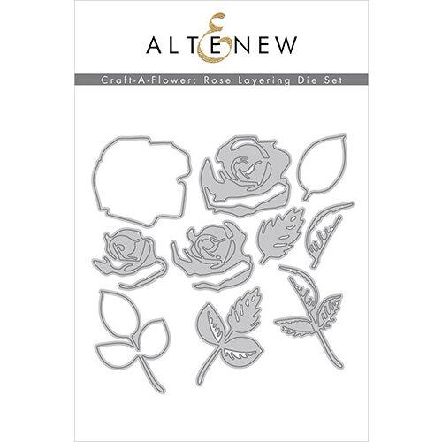Altenew - Layering Dies - Craft A Flower - Rose