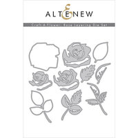 Altenew - Layering Dies - Craft A Flower - Rose