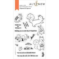 Altenew - Clear Photopolymer Stamps - Chipmunk and Squirrel