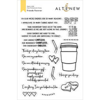 Altenew - Clear Photopolymer Stamps - Friends Forever