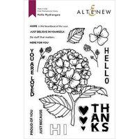Altenew - Clear Photopolymer Stamps - Hello Hydrangea