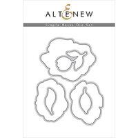 Altenew - Dies - Simple Roses