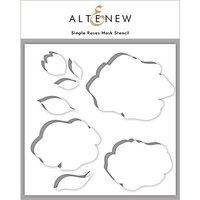 Altenew - Mask Stencil - Simple Roses