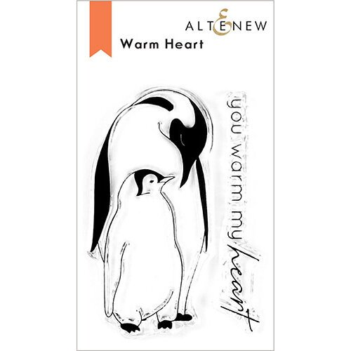 Altenew - Clear Photopolymer Stamps - Warm Heart