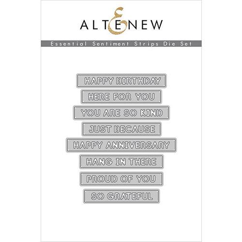 Altenew - Dies - Essential Sentiment Strips