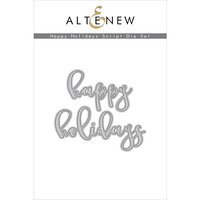 Altenew - Dies - Happy Holidays Script