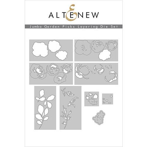 Altenew - Layering Dies - Jumbo Garden Picks