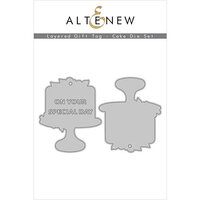 Altenew - Layered Gift Tag - Dies - Cake