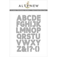 Altenew - Dies - Linear Pathway Outline Alpha