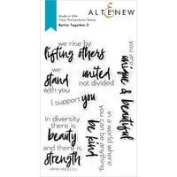 Altenew - Clear Photopolymer Stamps - Better Together 2