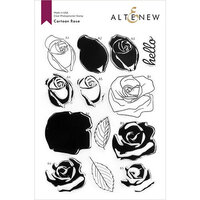 Altenew - Clear Photopolymer Stamps - Cartoon Rose