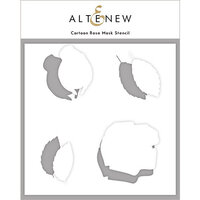 Altenew - Mask Stencil - Cartoon Rose