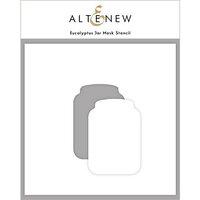 Altenew - Mask Stencil - Eucalyptus Jar
