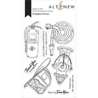 Altenew - Clear Photopolymer Stamps - Firefighter Heroes