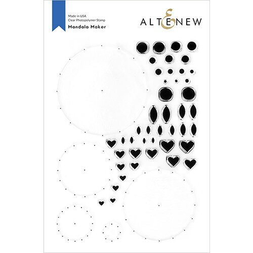 Altenew - Clear Photopolymer Stamps - Mandala Maker